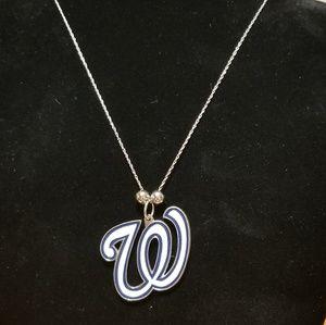 """Jewelry - Washington Nationals 16"""" necklace"""
